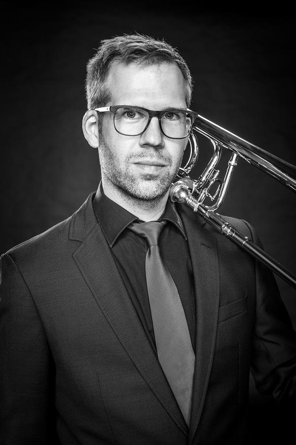 """Stephan Klein aus Wietmarschen Posaune war 2015 Gründungsmitglied, denn: """"Ich wollte mit Gleichgesinnten Musik machen."""""""